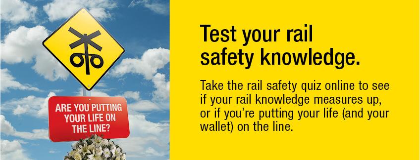 Rail safety quiz