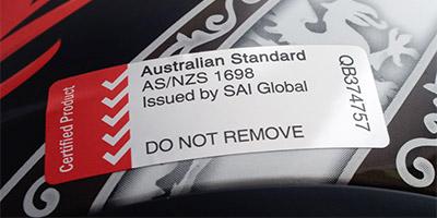 Australian standards conformance mark